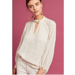 Anthropologie Tiny Maud Victorian Top